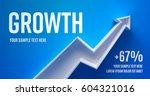 business presentation layout... | Shutterstock .eps vector #604321016