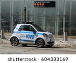 new york   march 16  2017  nypd ... | Shutterstock . vector #604333169