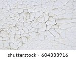texture very much cracked white ... | Shutterstock . vector #604333916