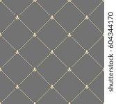 geometric dotted golden pattern....   Shutterstock . vector #604344170