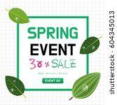 spring event | Shutterstock .eps vector #604345013