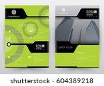 cover design vector template... | Shutterstock .eps vector #604389218
