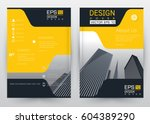 cover design vector template... | Shutterstock .eps vector #604389290