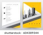 cover design vector template... | Shutterstock .eps vector #604389344