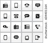 set of 16 editable gadget icons....