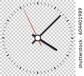 clock icon vector illustration. ... | Shutterstock .eps vector #604401989