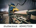 Sawmill. Process Of Machining...