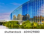 strasbourg  france  august 06... | Shutterstock . vector #604429880