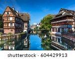 strasbourg  france  august 06... | Shutterstock . vector #604429913