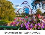 the building of european... | Shutterstock . vector #604429928