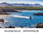 beautiful view of the bay... | Shutterstock . vector #604444628