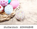 Decoration Easter Eggs With...