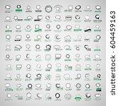 speech bubbles set isolated on...   Shutterstock .eps vector #604459163