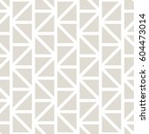 geometric grid triangle minimal ... | Shutterstock .eps vector #604473014