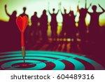 bullseye is a target of...   Shutterstock . vector #604489316