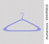 vector illustration of  hanger... | Shutterstock .eps vector #604490810