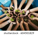 group of environmental... | Shutterstock . vector #604501829