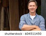 portrait shot of an attractive  ... | Shutterstock . vector #604511450