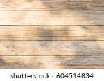 wood wall with sun light and... | Shutterstock . vector #604514834