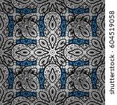 classic vintage background.... | Shutterstock .eps vector #604519058