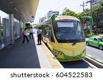 2012  oct 18th  the bangkok brt ... | Shutterstock . vector #604522583