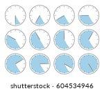 blue hour illustration since 5... | Shutterstock .eps vector #604534946