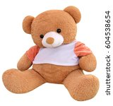 Big Bear Soft Toy Isolated On...