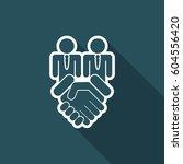 enterprise agreement | Shutterstock .eps vector #604556420