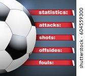 background of football soccer... | Shutterstock .eps vector #604559300