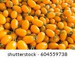 Pile Of Yellow Cherry Tomato
