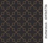 seamless antique palette black... | Shutterstock .eps vector #604565756