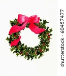 x mas wreath | Shutterstock . vector #60457477