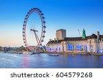 london  england   may 14  2016  ... | Shutterstock . vector #604579268