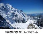 Mont Blanc  Chamonix  French...