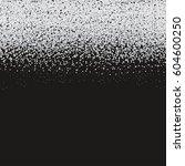 silver glitter texture on black ... | Shutterstock .eps vector #604600250