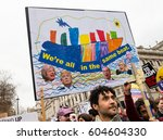 london  uk. 18th march 2017.... | Shutterstock . vector #604604330