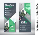 green color scheme with city... | Shutterstock .eps vector #604612004