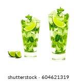 mojito | Shutterstock . vector #604621319