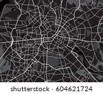 black and white scheme of the... | Shutterstock . vector #604621724
