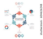 infographic timeline template...   Shutterstock .eps vector #604626248