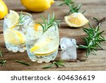 Alcoholic Drink  Gin Tonic...