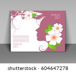 vector illustration of woman's... | Shutterstock .eps vector #604647278