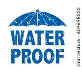 water drop text  vector... | Shutterstock .eps vector #604698020