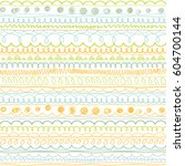 doodle patterns. decorative... | Shutterstock .eps vector #604700144