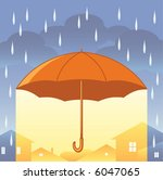 umbrella | Shutterstock .eps vector #6047065