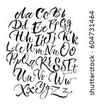 black scrawling uppercase and... | Shutterstock .eps vector #604731464
