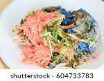 kao yum  southen traditional...   Shutterstock . vector #604733783