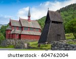 Old Wooden Bell Tower  Part Of...