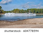 Small photo of River Cruise Ship on River Rhine,Germany