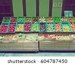 photography of fruits and... | Shutterstock . vector #604787450